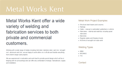 Preview of metal-works-kent.co.uk