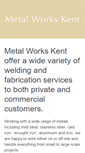 Mobile Preview of metal-works-kent.co.uk